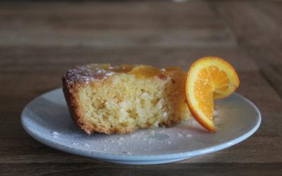 Cake met olijfolie